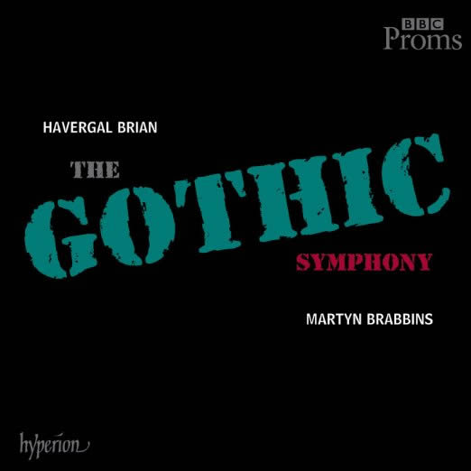 "Album cover for ""Symphony No. 1 'Gothic'"" by composer Havergal Brian."