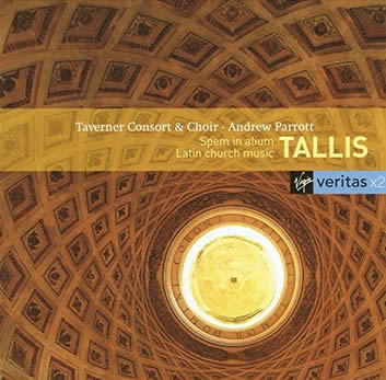Album cover for 'Spem in Alium' by English composer Thomas Tallis.