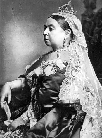 Portrait of Queen Victoria, painted by Alexander Bassano in 1887.
