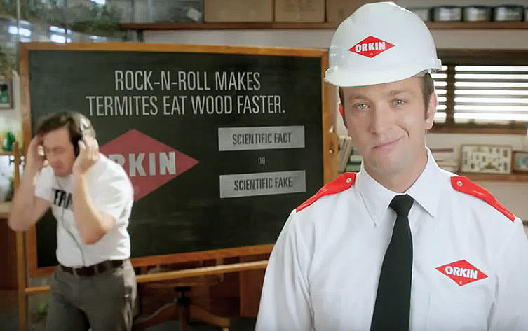 What's The Frequency, Orkin?, a fun video on music and termites.
