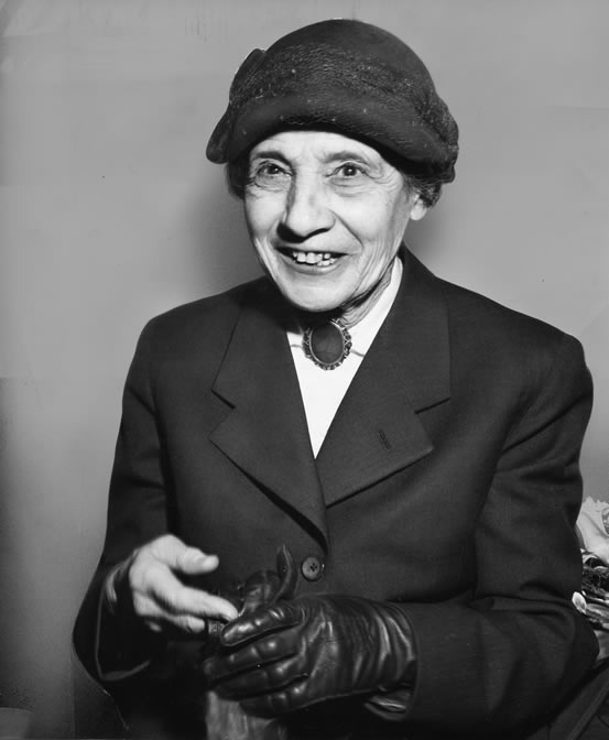 Portrait of Professor Lise Meitner.