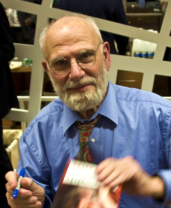 Oliver Sacks, photographed by Dan Lurie in 2007.