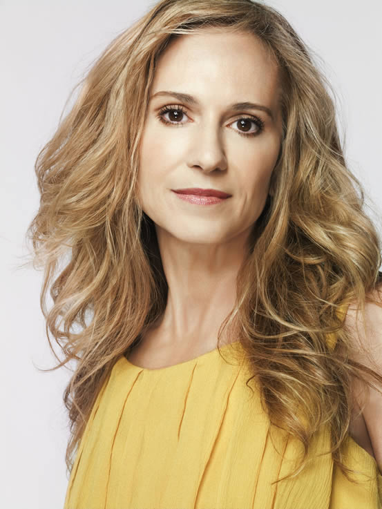 Portrait of Holly Hunter, photographed by Jeff Riedel.