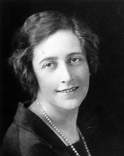 Portrait of Agatha Christie, 1925.