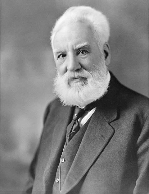 Portrait of Alexander Graham Bell, c. 1914-1919.