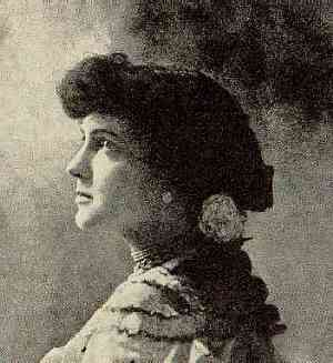 Portrait of Delmira Agustini.