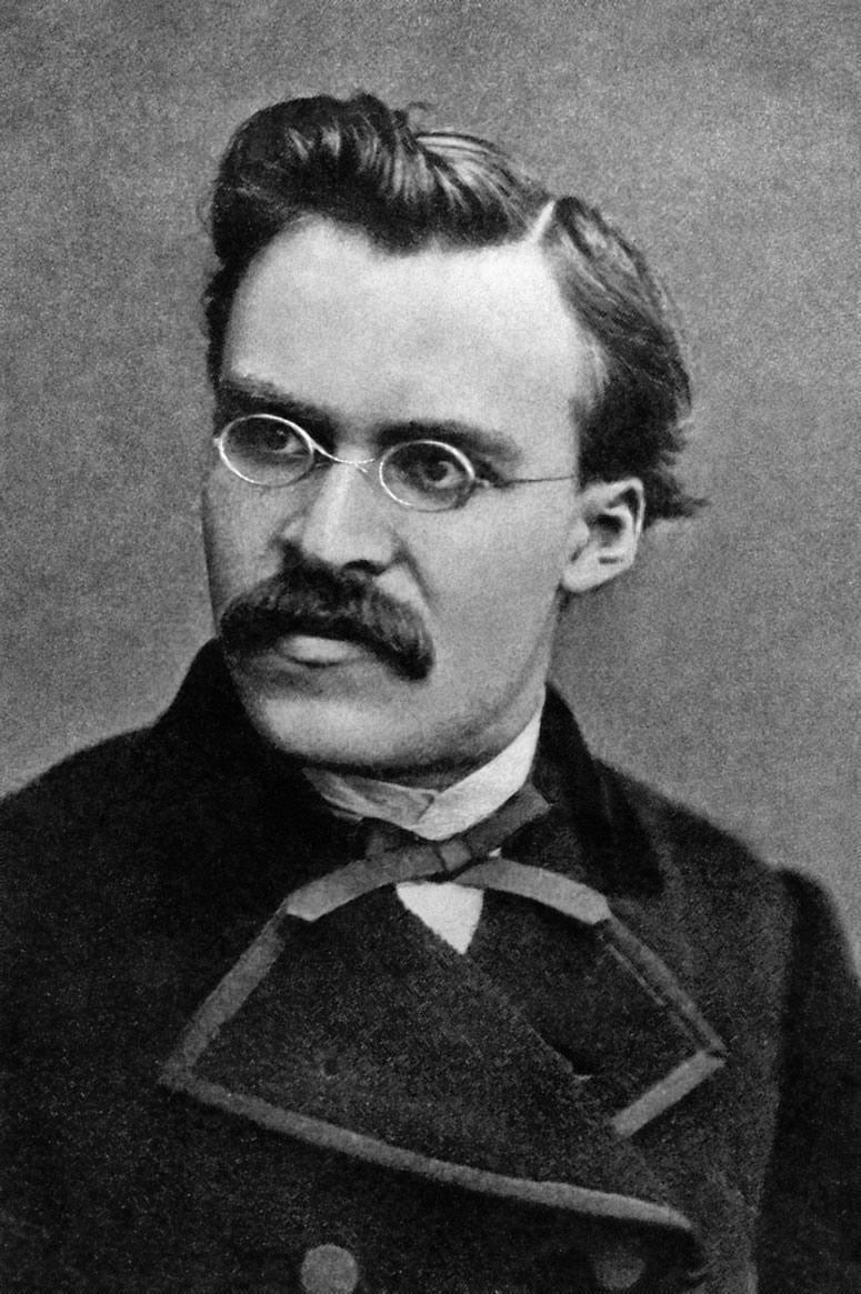 Photograph of Friedrich Nietzsche, c. 1869.