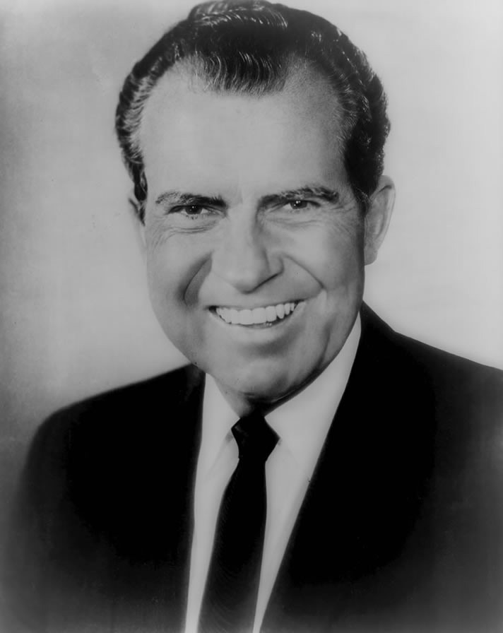 Portrait of Richard M. Nixon, c. 1969-1974.