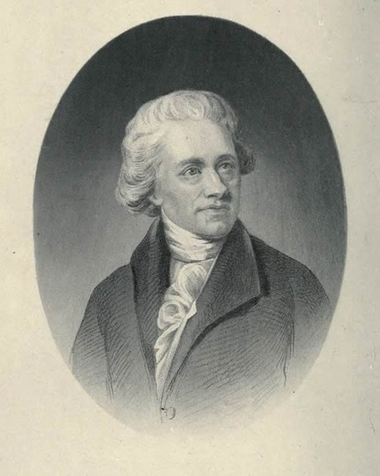Portrait of Sir William Herschel from 1881.