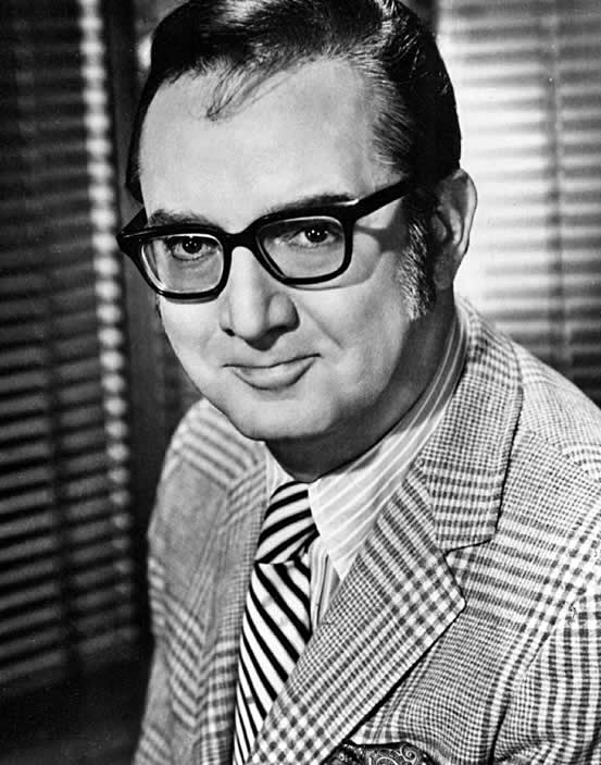 Press photograph of Steve Allen in 1977.