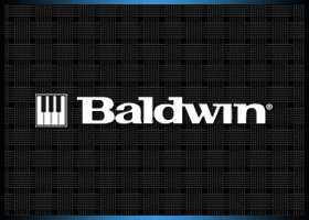Company logo for Baldwin Pianos.