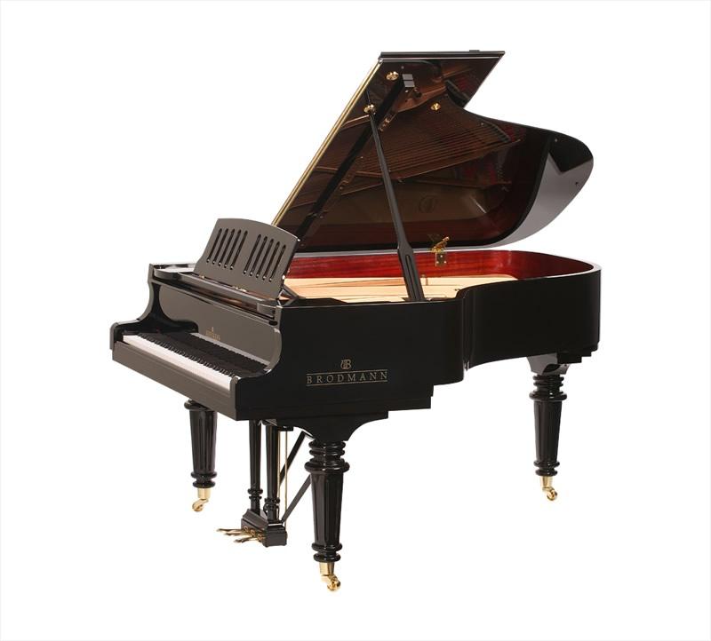 Main Gallery Image: Brodmann piano models.