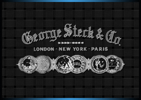 Company Logo for George Steck & Company.