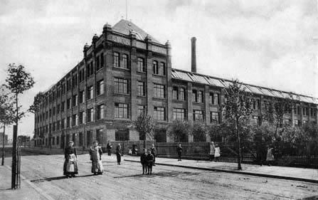 Munck-Steck Gotha Plant in Germany, 1914.
