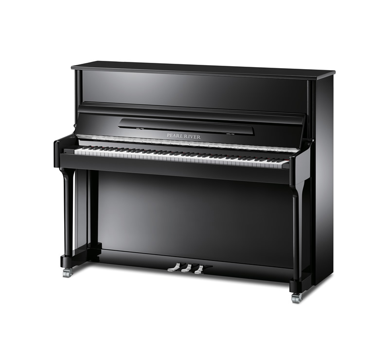 Main Gallery Image: Pearl River piano models.