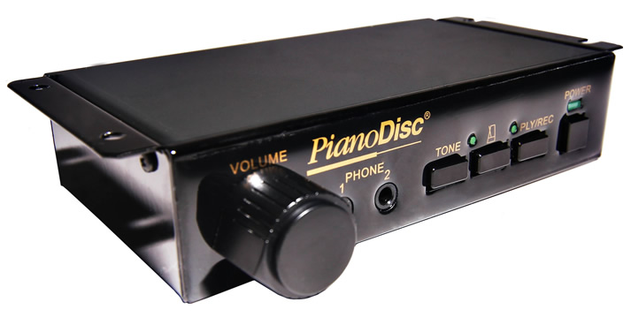 PianoDisc ProRecord no-touch player piano system.