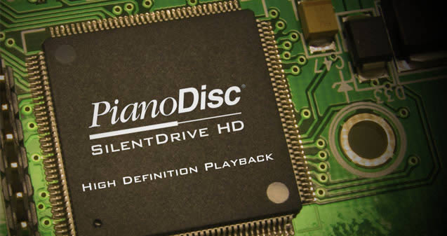 SilentDrive high definition playback system for Pianodisc.