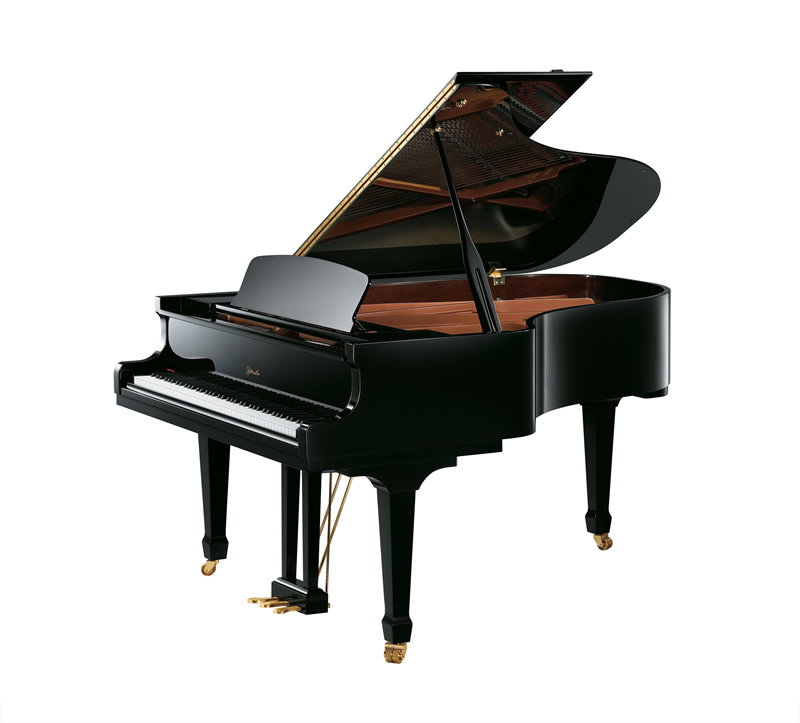 Main Gallery Image: Ritmüller piano models.