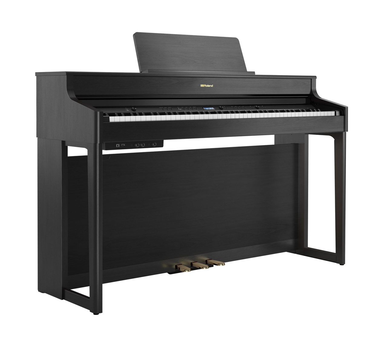 Main Gallery Image: Roland HP702 digital piano.