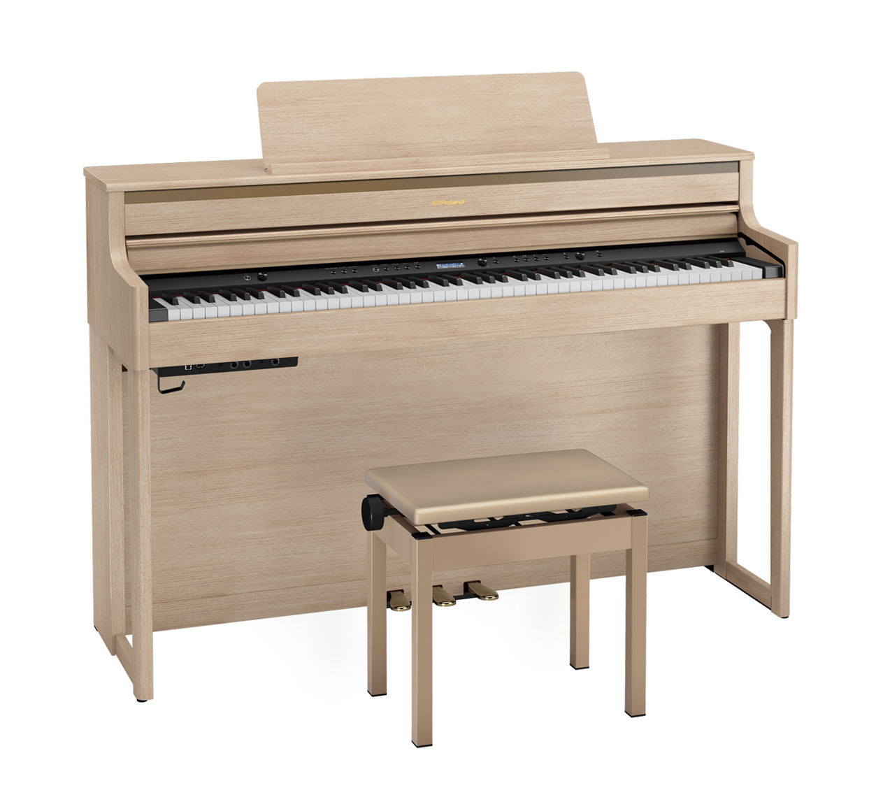 Main Gallery Image: Roland HP704 digital piano.