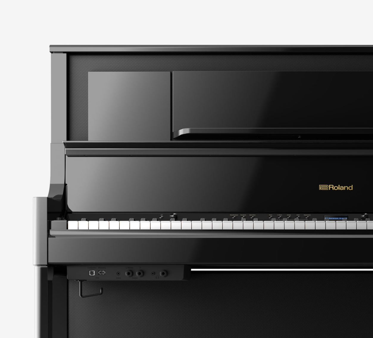 Main Gallery Image: Roland LX708 digital piano.