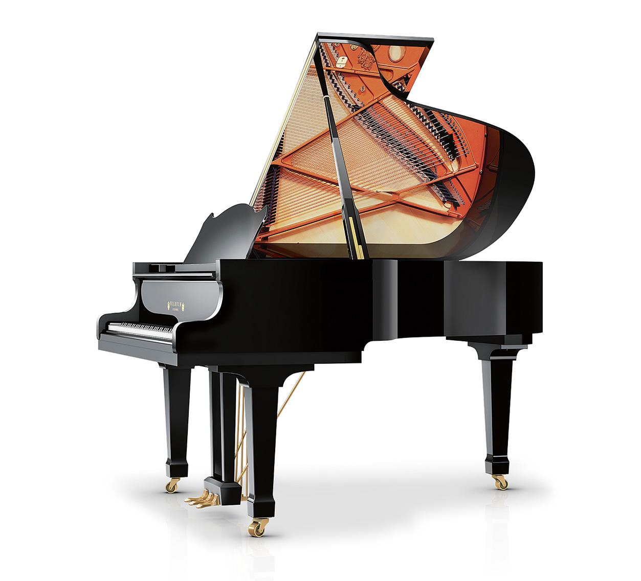 Main Gallery Image: Schimmel Wilhelm piano models.