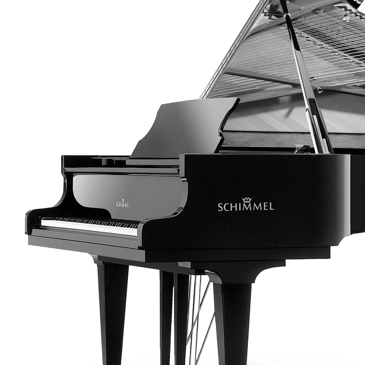 Schimmel acoustic pianos.