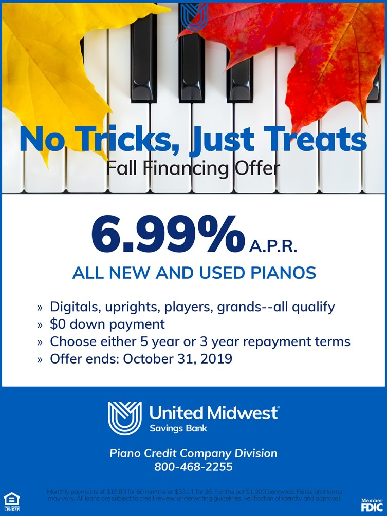 Trick or Treat Fall Promotion from UMSB.
