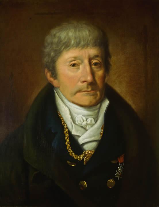 Portrait of Antonio Salieri, by Joseph Willibrod Mähler in 1815, in the Sammlungen der Gesellschaft der Musikfreunde, Germany.