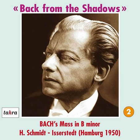 Album cover of Hans Schmidt-Isserstedt's 'Back From the Shadows,'Vol. II, 1950.