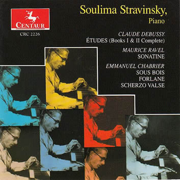 Album cover for Soulima Stravinsky released in 1996.