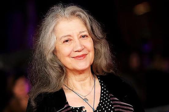 Martha Argerich in 2015.