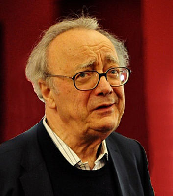 Alfred Brendel in 2010, photographed by Jiyang Chen.
