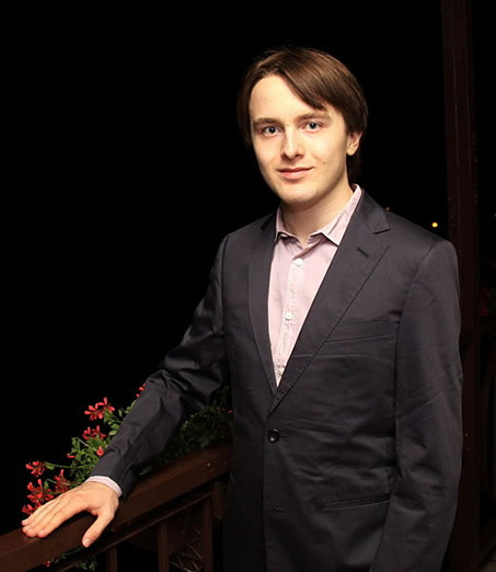 Portrait of Daniil Trifonov, photographed by Roland Kruk Jaroslaw in 2012.