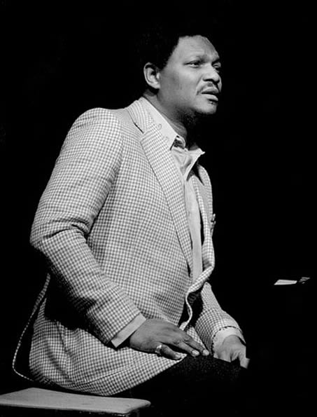 McCoy Tyner performing at Keystone Korner, San Francisco, California, phorographed by Brian McMillen in 1981.