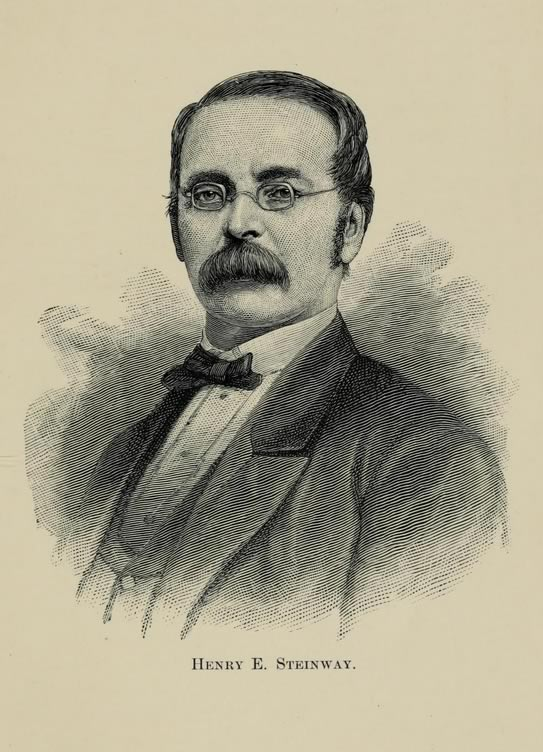 Portrait of Henry E. Steinway, c. 1892.