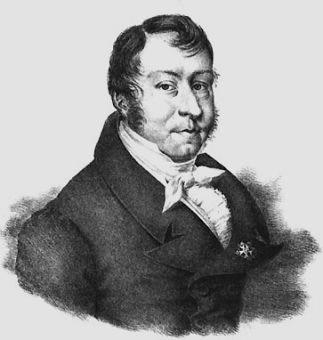Portrait of Johann Nepomuk Hummel.