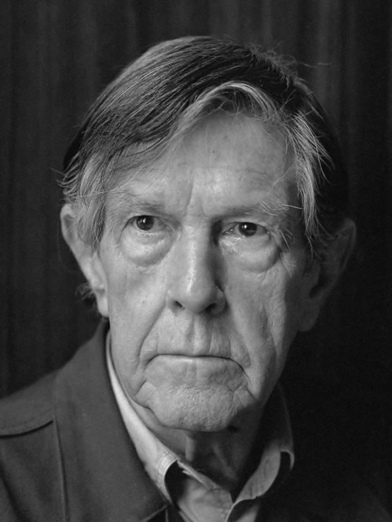 Portrait of John Cage, photographed by Rob/Anefo Bogaerts, in 1988.