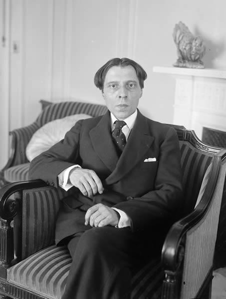 Portrait of Alfred Cortot.