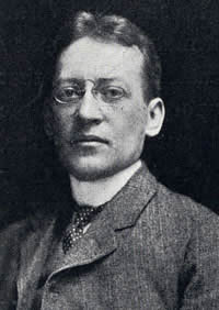 Portrait of Arthur Whiting in 1904.