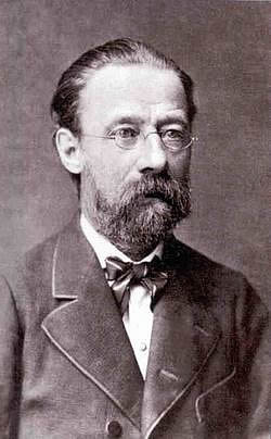 Portrait of Bedřich Smetana, c. 1878.