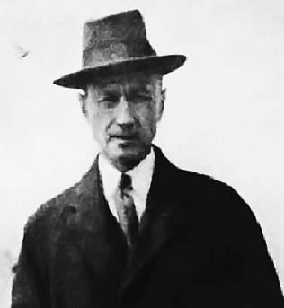 Charles Ives, c. 1913.