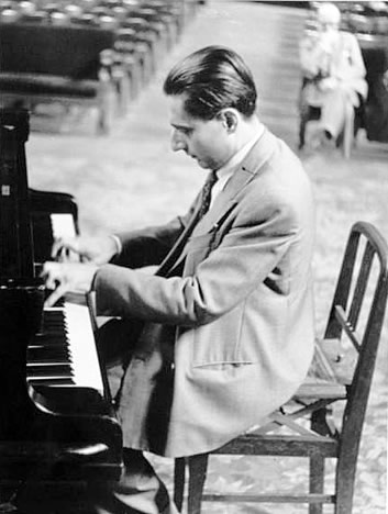 Dinu Lipatti playing the Piano in 1950.