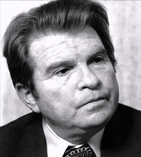 Portrait of Emil Gilels.