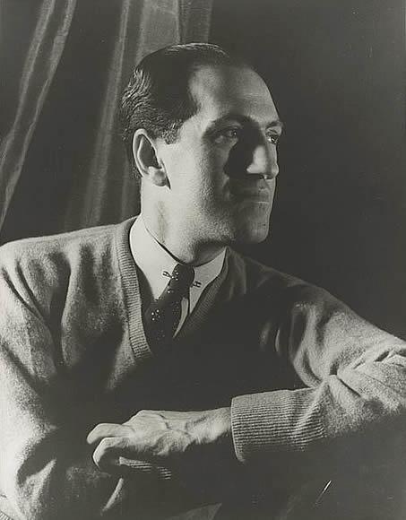 Portrait of George Gershwin, photographed by Carl Van Vechten, in 1937.