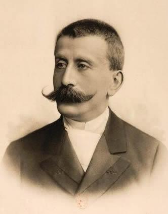 Portrait of Moritz Moszkowski, c. 1890 – 1910.