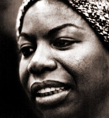 Promotional portrait of Nina Simone in 1967.