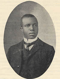 Portrait of Scott Joplin, c. 1903-1907.