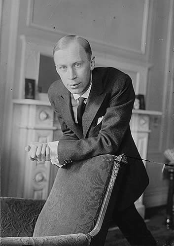 Portrait of Sergey Prokofiev.