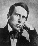 Portrait of Stephen Foster in the 19th Century.